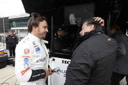Фернандо Алонсо, Andretti Autosport Honda, Майкл Андретті