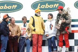 Podium: 1. Gilles Villeneuve, Ferrari; 3. Carlos Reutemann, Ferrari