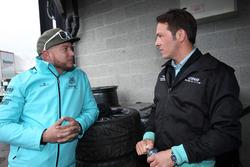 Rob Huff et Jean-Karl Vernay, Leopard Racing Team WRT, Volkswagen Golf GTi TCR