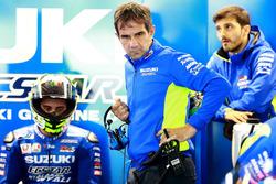 Andrea Iannone, Team Suzuki MotoGP, Davide Brivio, Team manager Team Suzuki MotoGP