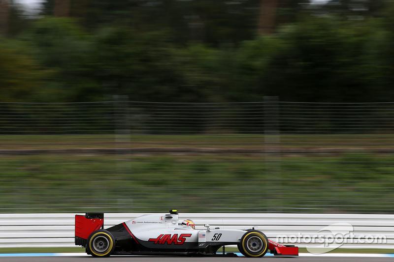 Charles Leclerc, test driver, Haas F1 Team