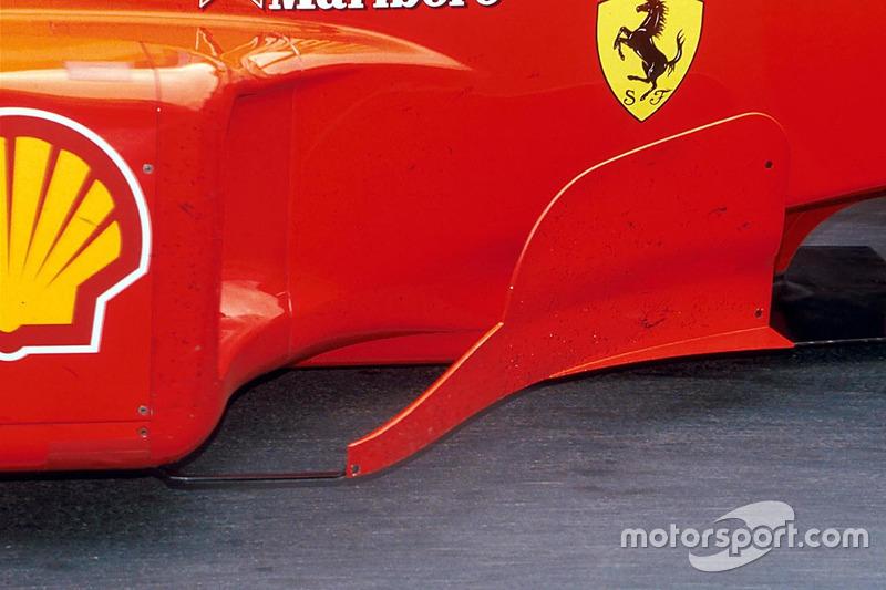 Ferrari F399: Windabweiser