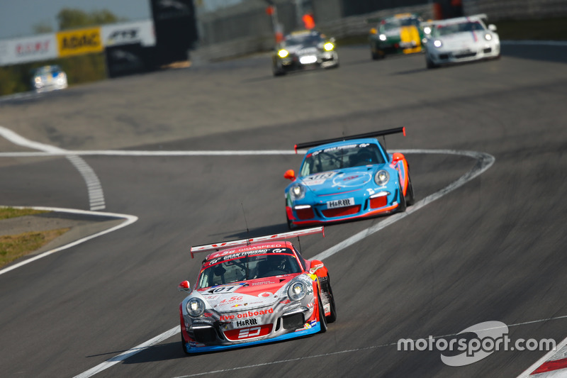 Adam Osieka, Kiki Sak Nana, Steve Jans, Porsche 911 GT3 Cup