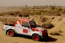 Desert Storm Rally participant in action