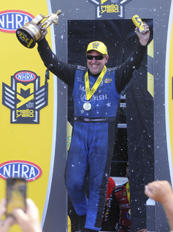 Funny Car winner Tommy Johnson Jr.