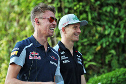 Даниил Квят, Scuderia Toro Rosso и Нико Хюлькенберг, Sahara Force India F1