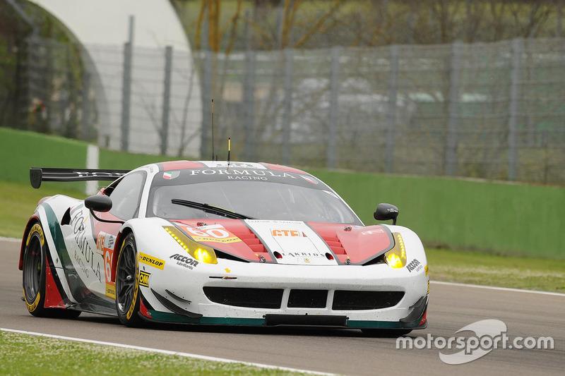 #60 Formula Racing, Ferrari F458 Italia: Johnny Laursen, Mikkel Mac, Christina Nielsen