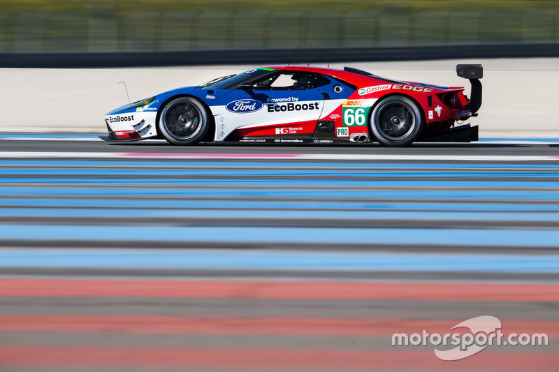 #66 Ford Chip Ganassi Racing Team UK, Ford GT: Billy Johnson, Stefan Mücke, Olivier Pla
