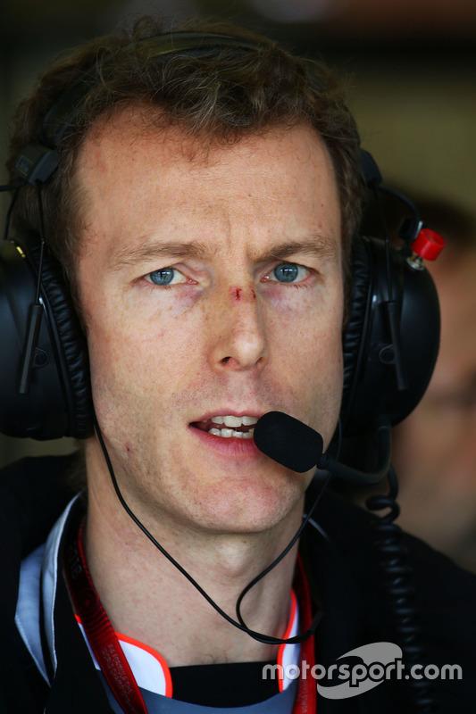 Mark Temple, McLaren ingenieur