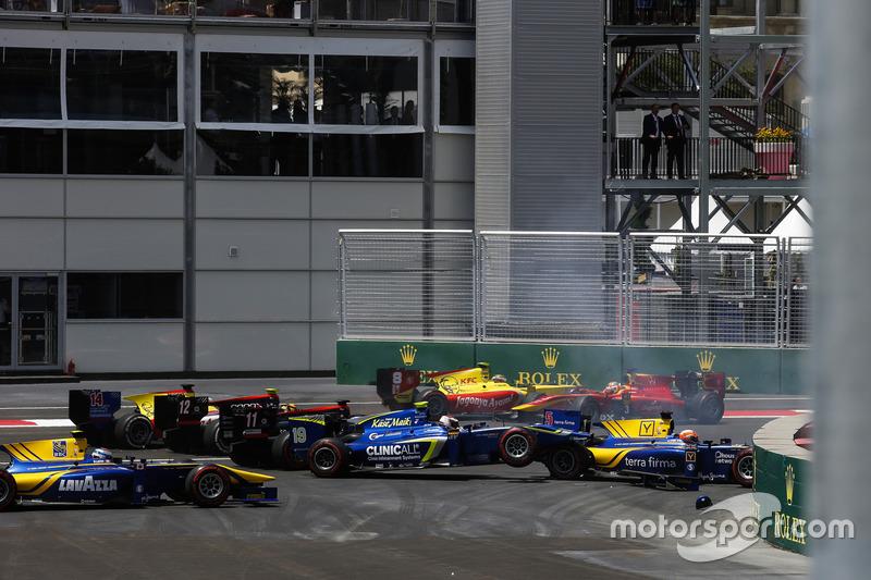 Баку для GP2 занадто аварійний