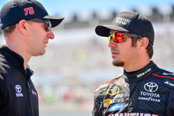 Martin Truex Jr., Furniture Row Racing, Toyota; Crewchief Cole Pearn