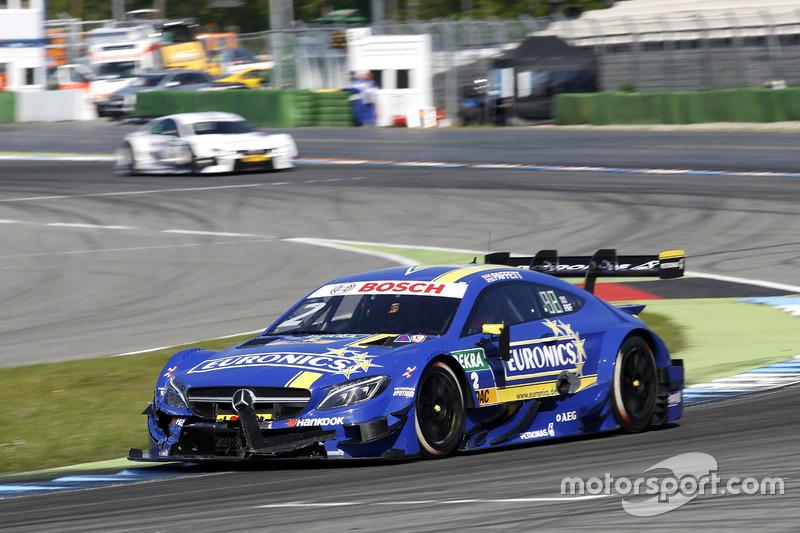 19. Gary Paffett, Mercedes-AMG Team ART, Mercedes-AMG C63 DTM