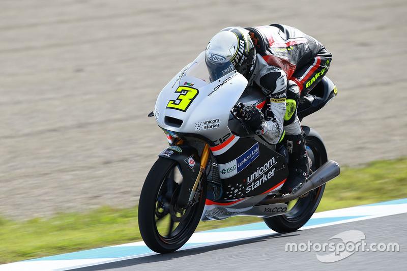 Fabio Spiranelli, CIP-Unicorn Starker, Moto3
