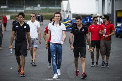Daniel de Jong, MP Motorsport, Raffaele Marciello, RUSSIAN TIME, Nabil Jeffri, Arden International, Arthur Pic, Rapax et Norman Nato, Racing Engineering