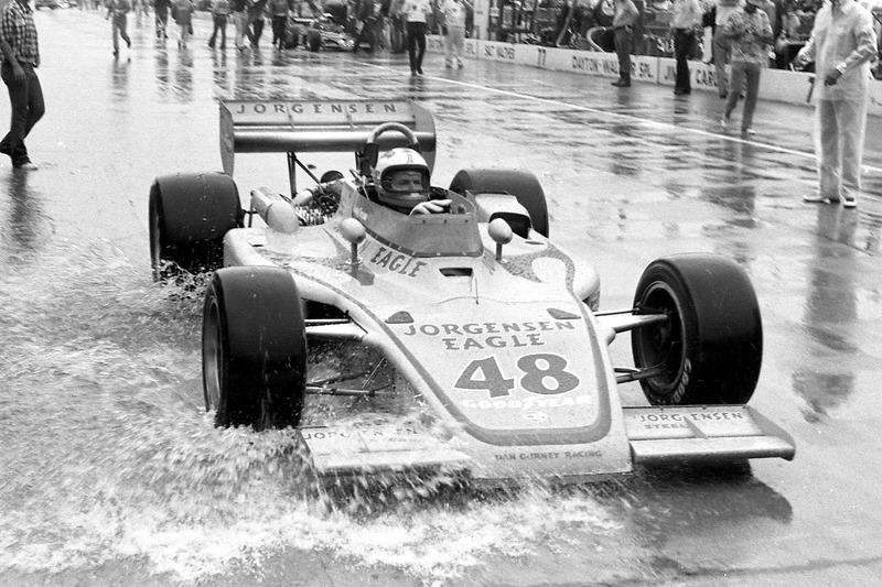 1975: Bobby Unser und der Regensturm