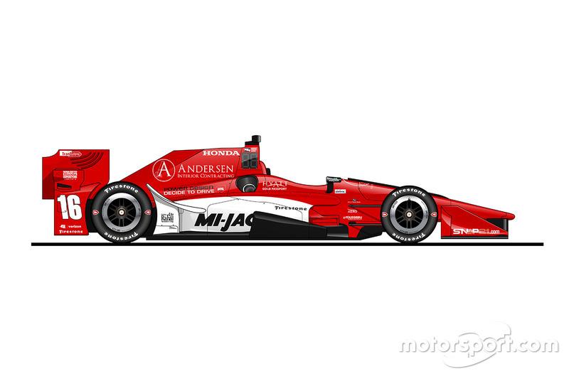 Spencer Pigot, Rahal Letterman Lanigan Racing, Honda