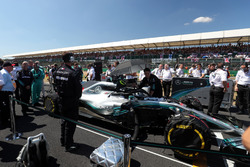 Lewis Hamilton, Mercedes AMG F1 in the grid