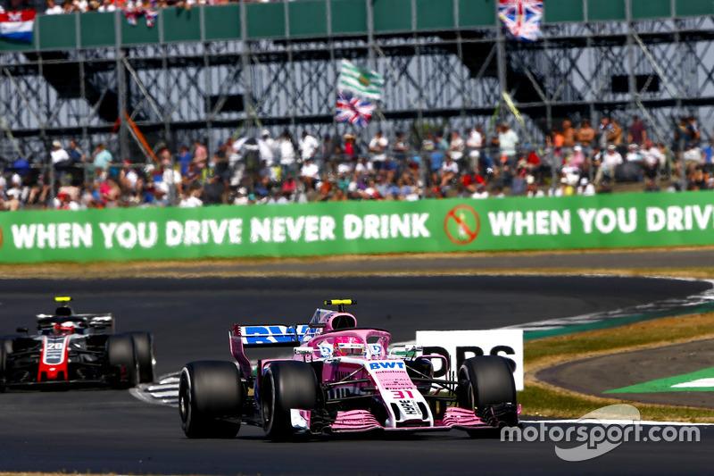 P7: Esteban Ocon, Force India VJM11
