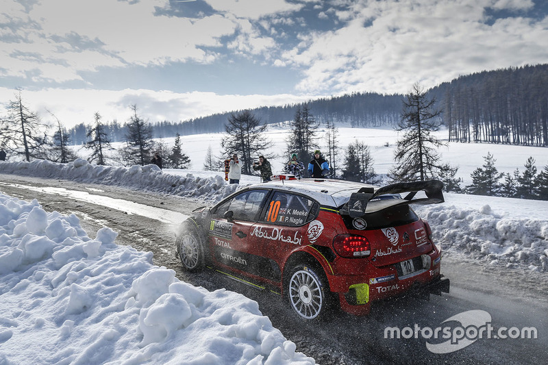2. Kris Meeke, Paul Nagle, Citroën C3 WRC, Citroën World Rally Team
