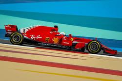 Rekayasa Ferrari SF71H tanpa Halo
