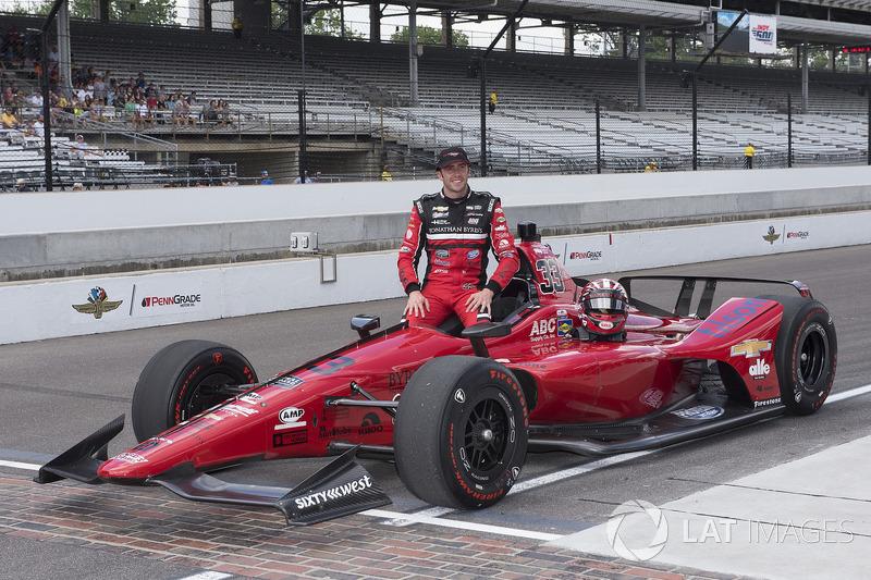 19. James Davison, A.J. Foyt Racing with Byrd/Hollinger/Belardi, Chevrolet