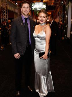 Denny Hamlin e la sua ragazza Jordan Fish