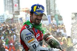 Podio: segundo lugar Lucas di Grassi, Audi Sport ABT Schaeffler