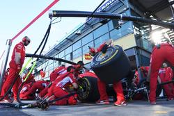Simulation d'arrêt au stand chez Ferrari