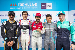 Lucas di Grassi, Audi Sport ABT Schaeffler, Jean-Eric Vergne, Techeetah, Alex Lynn, DS Virgin Racing, Mitch Evans, Jaguar Racing, Oliver Turvey, NIO Formula E Team