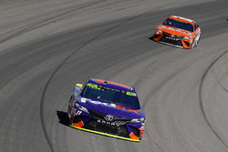 Denny Hamlin, Joe Gibbs Racing Toyota and Daniel Suarez, Joe Gibbs Racing Toyota