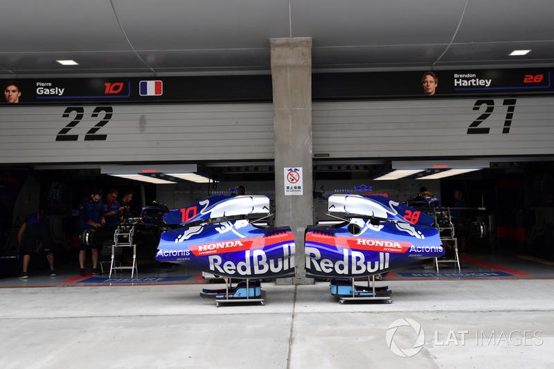Garage Scuderia Toro Rosso
