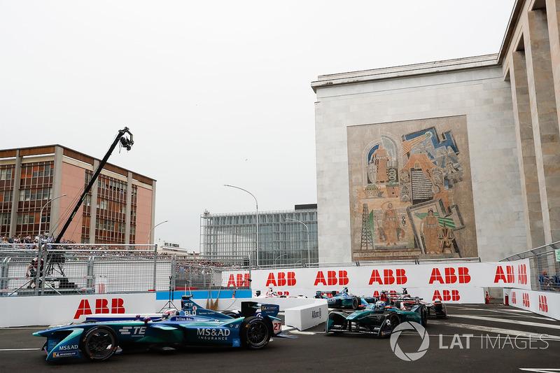 Tom Blomqvist, Andretti Formula E Team, Luca Filippi, NIO Formula E Team