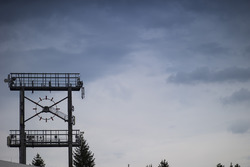 An old clock face at the Hockenheimring