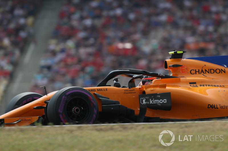 18: Stoffel Vandoorne, McLaren MCL33, 1'14.401