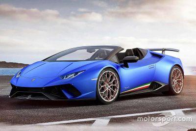 Lamborghini Huracan Performante Spyder onthulling