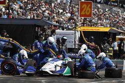 Marco Andretti, Herta - Andretti Autosport Honda, pitstop