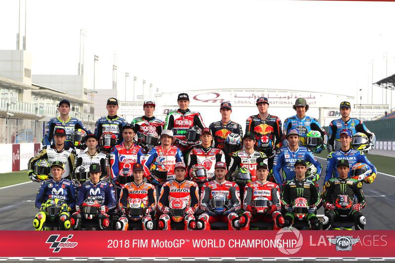 Line-up Pembalap MotoGP 2018
