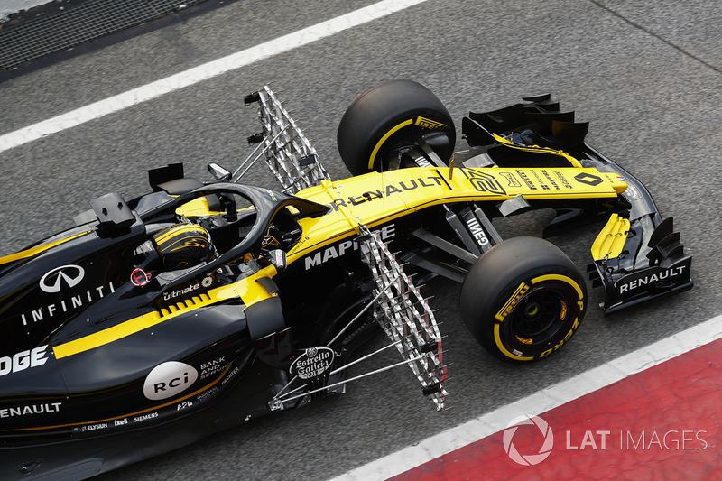 Nico Hülkenberg, Renault Sport F1 Team RS18