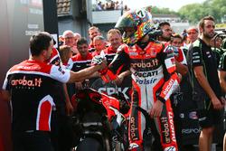 Troisième place pour Chaz Davies, Ducati Team