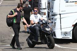 #63 GRT Grasser Racing Team, Lamborghini Huracan GT3: Mirko Bortolotti; Gottfried Grasser, Teambesit