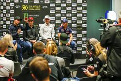 Petter Solberg, PSRX Volkswagen Sweden, Janis Baumanis, STARD, Reinis Nitiss, EKS, Sebastien Loeb, Team Peugeot-Hansen