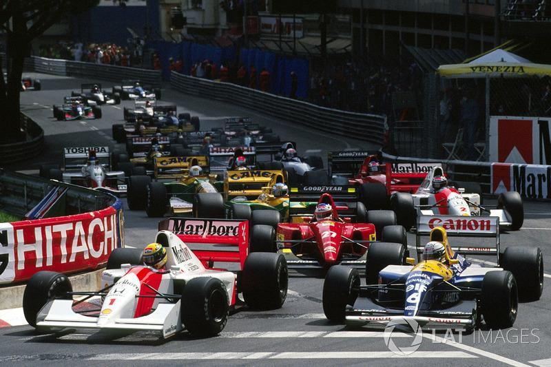 В квалификации Айртон занял третье место позади гонщиков Williams Найджела Мэнселла и Рикардо Патрезе
