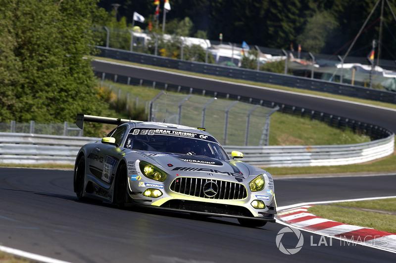 7. #50 Mercedes – AMG Team HTP Motorsport, Mercedes-AMG GT3