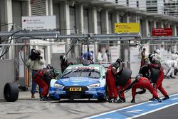 Boxenstopp, Loic Duval, Audi Sport Team Phoenix, Audi RS 5 DTM