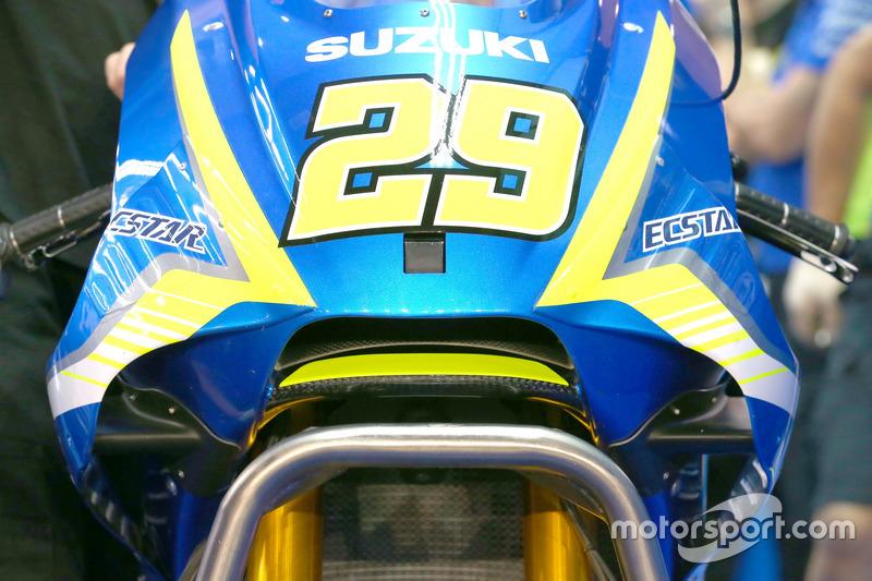 Nuevo paquete aerodinámico de Suzuki presentado en pretemporada