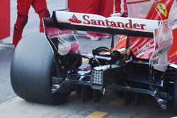 Ferrari SF70H, dettaglio del monkey seat