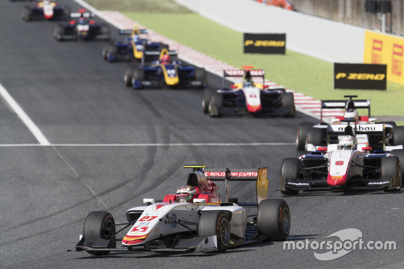 Raoul Hyman, Campos Racing, Kevin Jörg, Trident