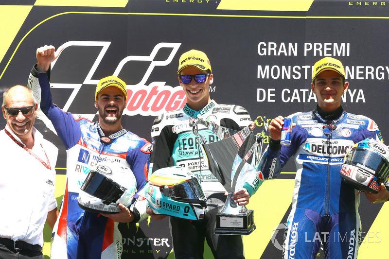 Romano Fenati, Marinelli Rivacold Snipers, Joan Mir, Leopard Racing, Jorge Martin, Del Conca Gresini Racing Moto3