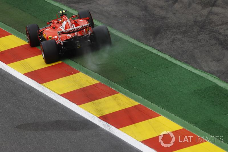 4: Kimi Raikkonen, Ferrari SF70H