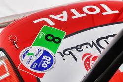Detail vom Auto von Stéphane Lefebvre, Gabin Moreau, Citroën C3 WRC, Citroën World Rally Team